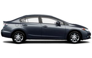 Honda Civic Hybrid / Benzin & Elektrik / Otomatik / 5 Koltuk / 67.00 EURO