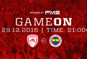 Olympiakos - Fenerbahçe Basket Maci 29 Aralik'ta