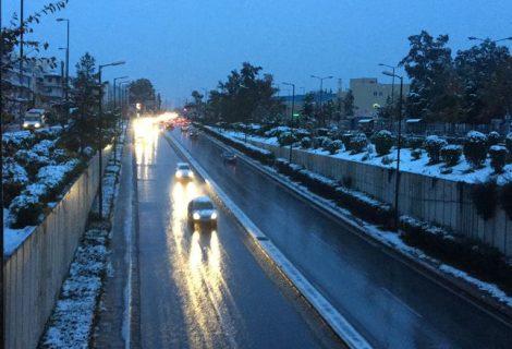 Atina'ya lapa lapa kar yagdi