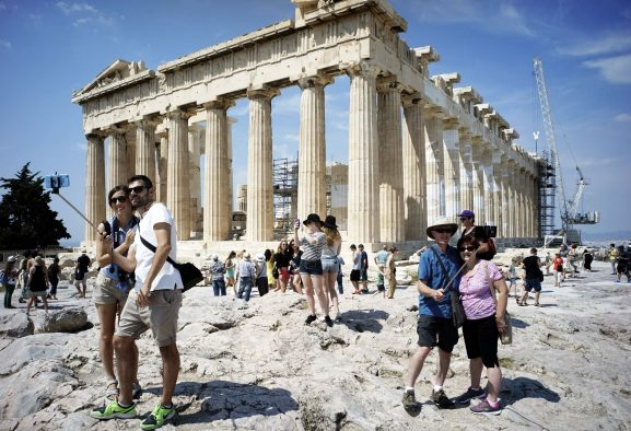 Yunanistan'da 2016 yilinda turist sayisi yuzde 6.1 artti