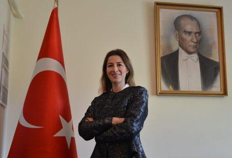 Atina - Pire Başkonsolosu Oya Yazar Hanımefendi görevine başladı