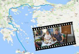 Arabayla İstanbul'dan Girit Adası'na giden Tavaşoğlu çiftinin harika tatil hikayesi
