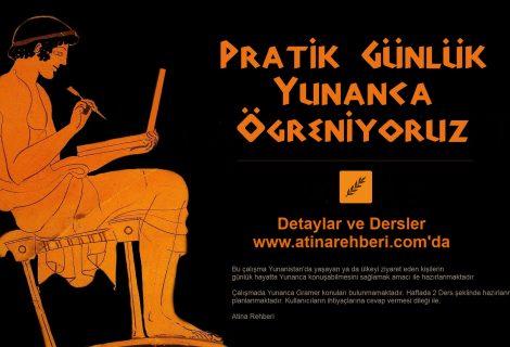 Pratik Günlük Yunanca Öğreniyoruz