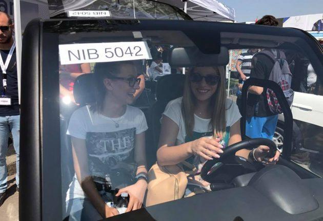 Ecocar, sürücüler tarafından test ediliyor